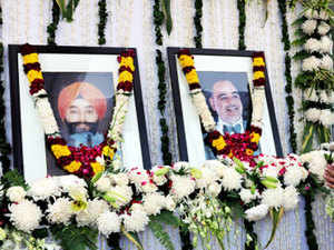 Ponty and Hardeep, who had an ongoing property dispute, were killed when both sides opened fire at each other on November 17 at their family farmhouse in Delhi.