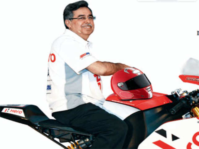 The 58-year-old big daddy of the world's largest two-wheeler company by volume is gearing up to go global at a time when doubting Thomases point at dipping domestic sales, predicting an uncertain future for the two-wheeler company.