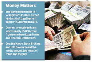 Panel finds violations in banks' lending to Deccan Chronicle Holdings, recommends tightening of norms by PSBs