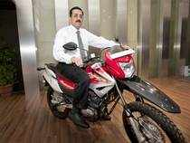 File photo: Anil Dua, senior vice-president, marketing and sales, Hero MotoCorp, August 9,2012, New Delhi.  The firm also faces strong competition from Honda building up and Bajaj's new motorcycle in January may take some market share from Hero. (BCCL photo)