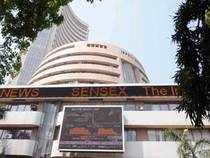 The Sensex, which had gained 182 points in last three sessions, fell by 62.70 points, or 0.32 per cent to 19,424.10 led by stocks of realty and IT sector.