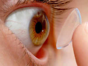 """The innovation is the first step towards """"fully pixelated contact lens displays"""" with the same detail as a television screen."""