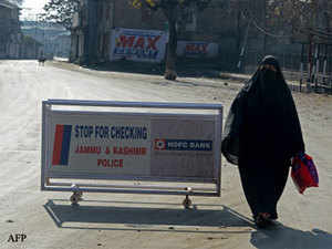 JKLF had on December 3 called for a general strike on the International Human Rights Day commemorated worldwide today to protest against life imprisonment awarded to two of its senior leaders by a TADA court in Jammu.