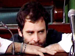 It is a surprise onslaught by the Congress that kept Gandhi's visit under wraps after apprehensions that the party might not field the young politician for campaigning.