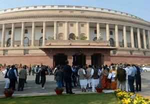BJP members were on their feet demanding that the Speaker suspend Question Hour and ask the government to reply on the lobbying issue.