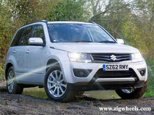 The 2013 model year Suzuki Grand Vitara features styling changes, new seat fabric, new infotainment system and an improved 1.9-litre DDiS diesel motor.