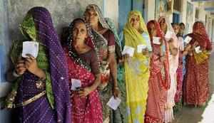 Gujarat Assembly Elections 2012: 53 per cent voting recorded till 3 pm
