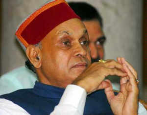 Himachal Pradesh Chief Minister P K Dhumal on Thursday won from the Hamirpur seat defeating his nearest Congress rival Narinder Thakur by a margin of over 9,500 votes.