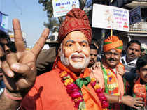 Shares of the Gujarat-based companies were reacting both ways as the counting of votes for the 2012 Gujarat Assembly was underway