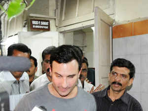 Saif and his two friends -- Shakeel Ladak and Bilal Amrohi-- have been charge sheeted under section 325 (assault) of IPC. The police have also added the statement of 29 persons in the charge sheet, sources said.