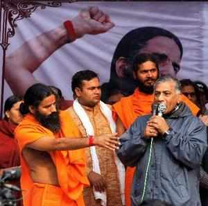 Delhi rape case: V K Singh, Ramdev named in FIR for violence at Jantar Mantar
