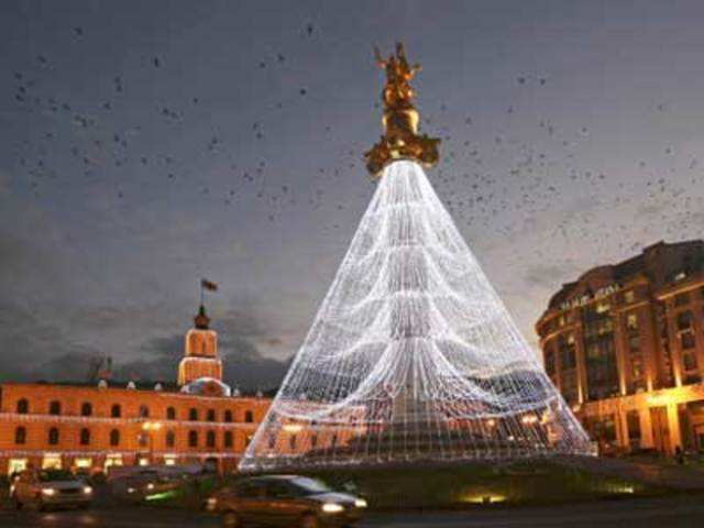 Christmas In Georgia Tbilisi.Christmas Day Celebrations Across The World An