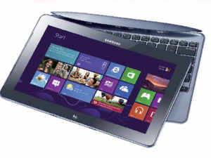 Unlike convertible ultrabooks, you can completely detach the keyboard, converting it into a true tablet.
