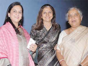 Rohini Nilekani, Yasmeen Premji and Sudha Murty