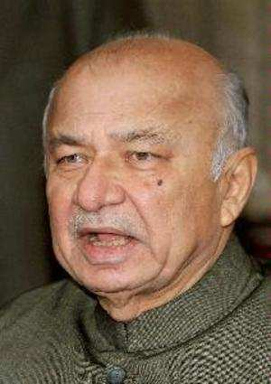 Home Minister Sushilkumar Shinde said the government decided to send her abroad following the advice of doctors in Safdarjung Hospital. (PTI photo)