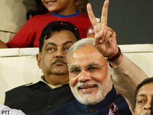 Modi has kept with himself important portfolios like home, industry, information, ports, general administration, science and technology, climate change, Narmada, Kalpsar and all policies.