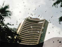 Sensex rose by almost 203 points to end the week at 19,444.84, snapping its last 2-week losing streak.