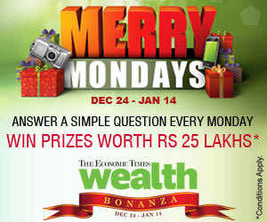Over three weeks from December 24 to January 14, every issue of The Economic Times Wealth will feature a simple question, the answer to which lies within that issue.