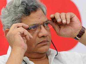 """""""We raised this (passage of the bill in Rajya Sabha) in Parliament too as it is held up. It has been passed in the Lok Sabha but yet to be brought to the Rajya Sabha,"""" senior CPI(M) leader Sitaram Yechury told reporters here when his comment was sought on the demand for a special session for the purpose."""