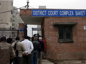 Advocate Mohan Lal Sharma appeared in the court and told Metropolitan Magistrate Namrita Aggarwal that he had received calls from relatives of some of the accused to defend them.