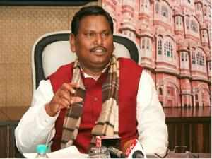 Munda submitted to the Jharkhand governor the Cabinet decision recommending dissolution of the Assembly.