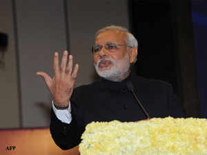 Narendra Modi hit back at critics of his industry bias, saying all his efforts to promote business would benefit different sections of society, including farmers and youth.
