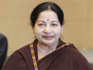 """Dubbing Opposition DMK as an """"evil force"""", AIADMK chief J Jayalalithaa today accused it of 'conniving' with ally Congress and the UPA government to create hurdles in Tamil Nadu's progress."""