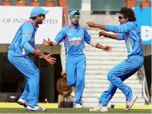 India produced the disciplined bowling and batting display to register an emphatic 7-wicket victory over England in the third ODI of the five-match series at Ranchi.