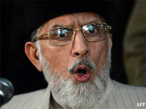 Qadri, who heads the Tehrik Minhaj-ul-Quran, said the incident had occurred some years ago when the Sharif brothers were living in self-exile in Saudi Arabia.