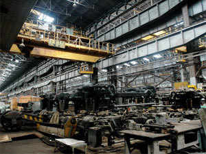 India's rank in the world order of steel production remained unchanged at fourth slot with an output of 76.7 mn tonnes.