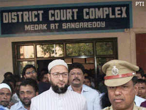 Asaduddin was earlier sent in judicial remand till February 2 and lodged in the Medak district jail at Kandi, six kms from Sangareddy.