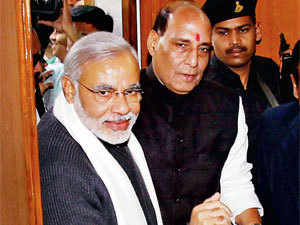 Modi said after the fruitful meeting that he and Singh had discussed the next general elections in detail.