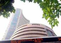 The Sensex was moving in a narrow trading range in absence of fresh buying interest near current levels.