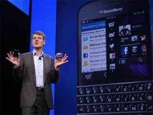 A model called the Z10 will go on sale Thursday in the U.K. Prices will vary by wireless carriers.
