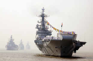 Engine problems in INS Vikramaditya fixed, sea trial to start in June