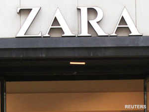 Zara, part of the biggest global fashion conglomerate Spain's Inditex group, opened nine stores in an aggressive three year expansion.