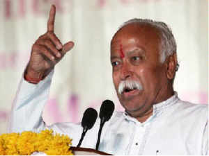 Mohan Bhagwat has backed VHP's resolution for building a Ram temple in Ayodhya saying 'Ram Temple' is the cornerstone of the 'Indian Identity'.