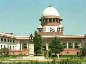 CBI's submission that BJP leader L K Advani and others had committed a 'national crime' drew a sharp reaction from the Supreme Court.