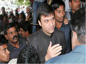 """The voice of jailed MIM legislator Akbaruddin Owaisi, facing charges of sedition and waging war against the nation for his alleged """"hate speech,"""" was today recorded in Nizamabad town of Andhra Pradesh even as a court extended his judicial remand till February 26."""