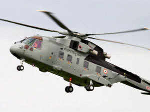 In Pic: Helicopter. PTI