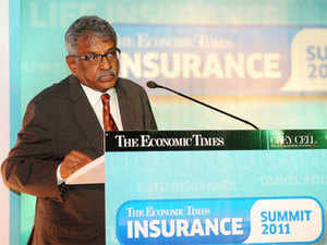 Amend the laws to mandate the holding company model for financial services, says chairman of the Insurance Regulatory and Development Authority of India (Irda).