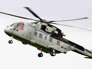 File Photo of AW101 VVIP Airforce Helicopter.   The Rs 3,760-crore helicopter scam may affect India expansion plans of Finmeccanica, whose subsidiary AgustaWestland is at the heart of the affair.