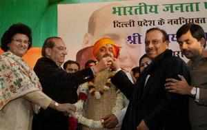 Vijay Goel said the Sheila Diskhit government will be dethroned in the upcoming polls as people were fed up with it.