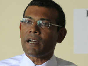Maldives was pressing for facilitation of the arrest of former President Mohamed Nasheed against whom a fresh court warrant was issued today
