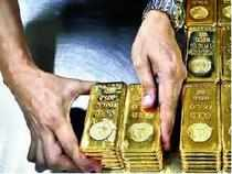 Both the precious metals, gold and silver, fell here today due to sluggish demand and reduced offtake by industrial units and coin makers.