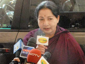 """The decision comes a day after Jayalalithaa slammed the Lankan government over the """"inhuman act"""" of alleged cold blooded killing of 12-year-old Balachandran by the Lankan army. (Pic: TNN)"""