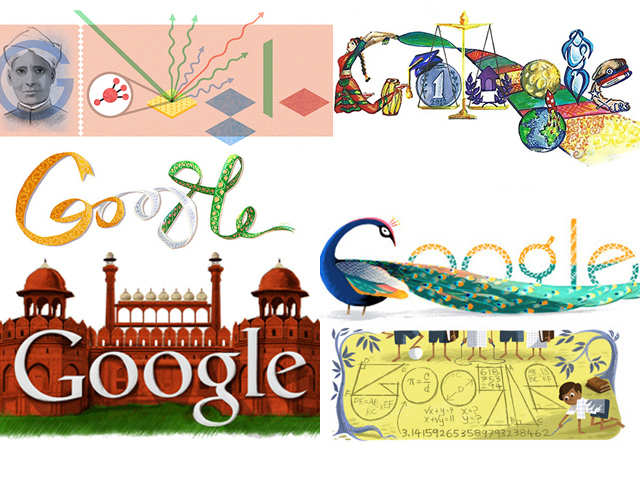 Google Doodles With An Indian Touch Google Doodles With An Indian