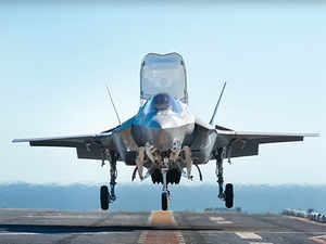 All F-35 flight operations have been suspended until the investigation is complete, the Pentagon said in a statement yesterday. (Pic: http://www.lockheedmartin.com)