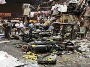 Two powerful blasts had ripped through the city of Hyderabad on last Thrusday evening. Sixteen people had died in the attack. Intial reports point to a suspected IM (Indian Mujahideen) link to the blasts.