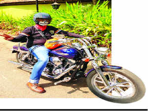 """Oxford English dictionary has dropped its definition of bikers as """"long-haired in dirty denims"""" after outrage from British motorcyclists who claimed the description was outdated."""